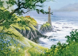 Cobble Hill: Summer Lighthouse (1000) zomerpuzzel