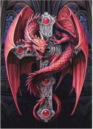 Bluebird: Anne Stokes - Gothic Guardian (2000) fantasypuzzel