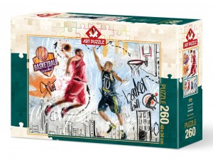 Art Puzzle: Basketball (260XL) legpuzzel