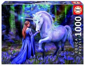 Educa: Anne Stokes - Bluebell Woods (1000) fantasypuzzel