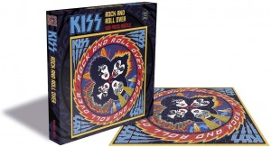 Zee Puzzle: Kiss - Rock and Roll Over (500) muziekpuzzel