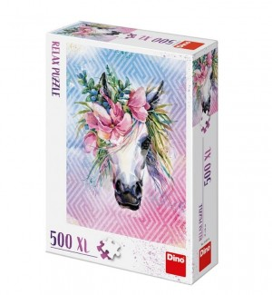Dino: Unicorn (500XL) legpuzzel