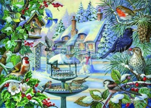House of Puzzles: Winter Birds (500BIG) winterpuzzel