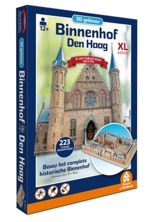 House of Holland: Binnenhof Den Haag (223) XL 3D puzzel