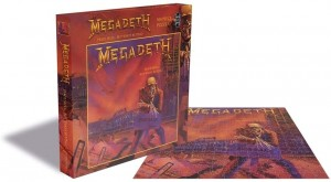 Zee Puzzle: Megadeth - Peace Sells, but who's buying (500) muziekpuzzel