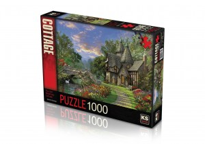 KS Games: The Old Waterway Cottage - Dominic Davison (1000) puzzel
