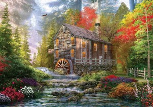 KS Games: The Old Wood Mill - Dominic Davison (1000) puzzel