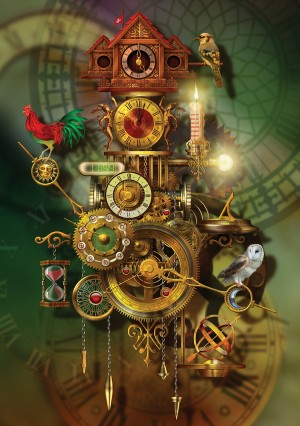 KS Games: Its About Time - Ciro Marchetti (1500) verticale puzzel