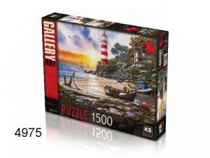 KS Games: Lighthouse - Philip Trully (1500) legpuzzel