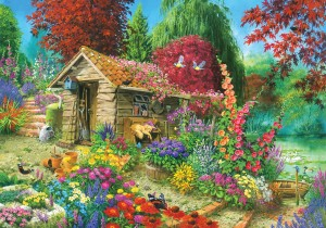 KS Games: The Garden Shed - John Francis (1500) legpuzzel