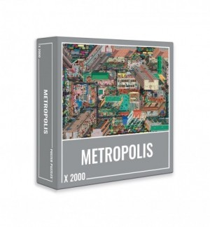 Cloudberries: Metropolis (2000) legpuzzel