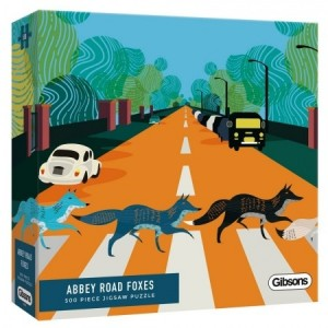 Gibsons: Abbey Road Foxes (500) legpuzzel